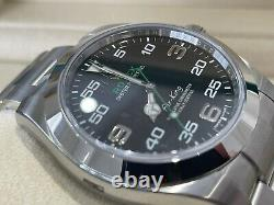 116900 UNWORN ROLEX AIR-KING STAINLESS STEEL WATCH BOX & PAPERS £5995 Ono