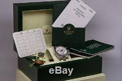 2006 Rolex 116520 Daytona White Dial Stainless Steel Automatic Mens Watch