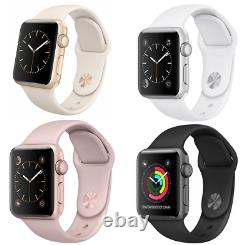 Apple Watch Series 2 38mm 42mm WiFi GPS Aluminum Stainless Steel Sport Band