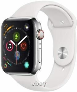 Apple Watch Series 5 Stainless Steel Silver Space Black GPS + Cellular