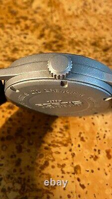 Authentic Fortis Flieger Date Automatic Stainless Steel Watch 595.10.46.1