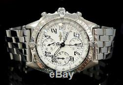 BREITLING Chronomat Automatic Stainless Steel A13350 Boxed