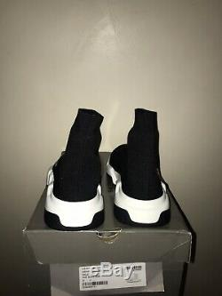 Black/White Balenciaga Speed Sock Trainers Uk 7 Mid-top Brand New No Tags