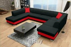 Brand New Modern ARCO U-shaped sofa bed with sleeping function Choice of colours