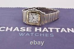 Cartier Santos 2961 Gold and Steel 29 x 41mm Watch Only