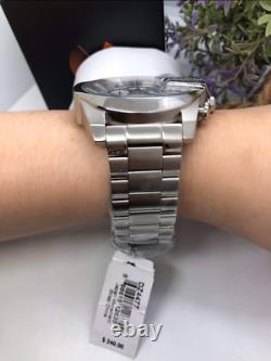 Diesel Mega Chief Stainless Steel White Dial Chronograph Watch DZ4477 TWO LEFT