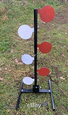 Dueling Tree Target Complete Kit 2x4 Steel Stand 1/4 A36 or 1/4 AR500 6