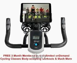Exercise bike cardio fitness 13kg Fly Wheel FREE Unlimited On Line Classes