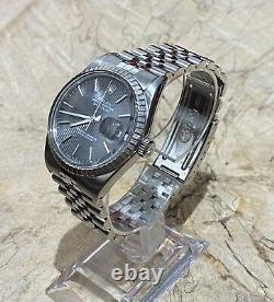Gents Rolex Datejust 16030 Stainless Steel FULL SET 2 YEAR GUARANTEE