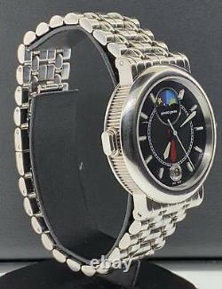 Gerald Genta Night & Day Stainless Steel 36mm Automatic Date Ref G. 3706