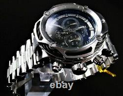 Invicta 60mm Shaq O'Neal Bolt Collection Swiss Chronograph Stainless Steel Watch
