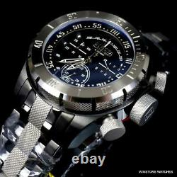 Invicta Platinum Select Coalition Forces Swiss Made Steel Chrono Watch 50mm New
