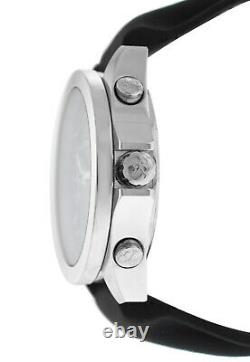 Jacob & Co. Five 5 Time Zone JCM-29 Stainless Steel 40MM Watch Black Strap