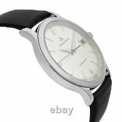 Jaeger LeCoultre Master Control Steel 18K Gold Silver Automatic Watch 140.8.89