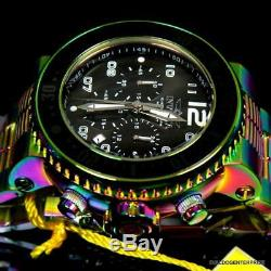Men's Invicta Pro Diver Combat Seal Iridescent Steel Chronograph 52mm Watch New