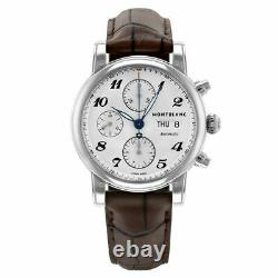 Montblanc Star Chronograph Automatic 39mm Stainless Steel Men's Watch 106466