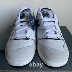 New Balance 550 White/Black Brand New Size 7-9.5 100% Authentic BB550LM1