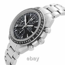 Omega Speedmaster Day-Date Chronograph Steel Black Dial Mens Watch 3220.50.00
