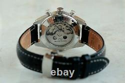 Orient star chronograph automatic, Stainless steel men's watch, Ref WZ0021DY