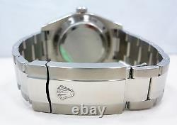 ROLEX Milgauss 116400 Oyster Perpetual Black Dial Steel Watch Mint Condition