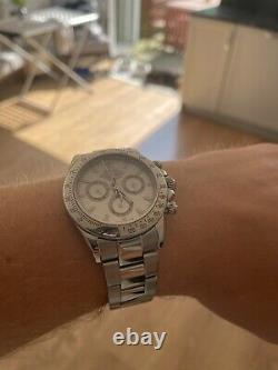Rolex Daytona 116520 2003 White Dial Stainless Steel Box and Papers