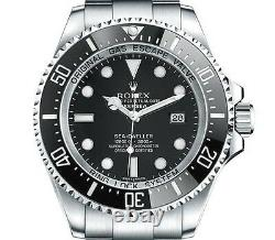 Rolex Deep Sea Sea Dweller Stainless Steel Black Dial 116660 Box Papers Diver's