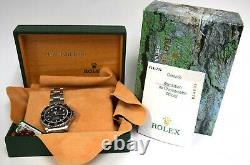 Rolex Sea-Dweller Stainless Steel Mens Dive 40mm Watch Box/Papers F 16600