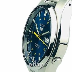 Seiko 5 Automatic Stainless Steel Blue Dial 37mm Mens Watch SNK615K1 RRP £169