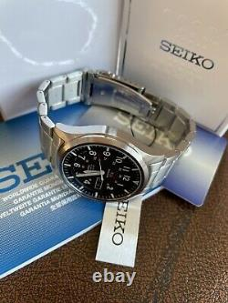 Seiko 5 Sports SNZG13 J1 42mm Stainless Steel Analog Automatic Watch UK Seller