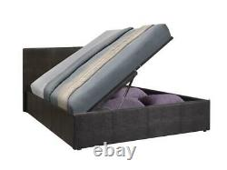 Side Lift Ottoman Storage Bed Single, Small Double, Double, Kingsize Gas Lift