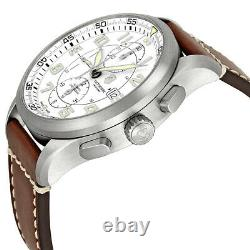 Swiss Army Airboss Mechanical Automatic Chronograph Steel Mens Watch Date 241598