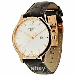 Tissot Tradition White Dial Stainless Steel Quartz Mens Watch T0636103603700