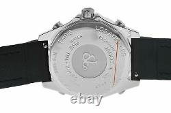 Unisex Jacob & Co. Five 5 Time Zone Watch JCM-29 Stainless Steel 40MM Watch