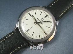 Vintage Bulova Accutron 218 Tuning Fork Stainless Steel Mens Watch 1970